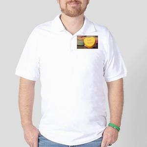 """""""Love Stinks"""" Candy Heart Golf Shirt"""