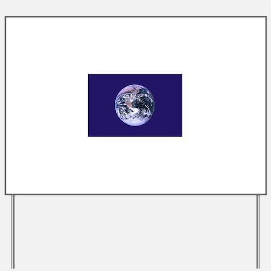 Earth Day Flag Yard Sign