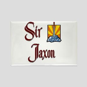 Sir Jaxon Rectangle Magnet