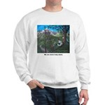 Sweatshirt - Jesus w/ children in Nature