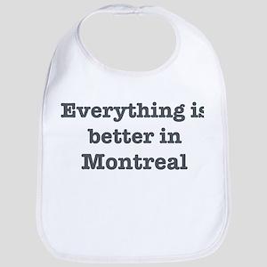 Better in Montreal Bib