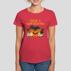 Happy Halloween Women's Dark T-Shirt