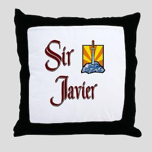 Sir Javier Throw Pillow