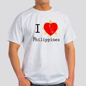 I Love The Philippines Light T-Shirt