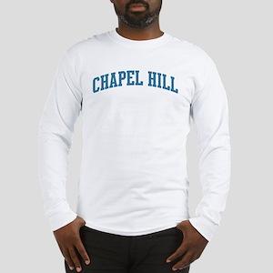 Chapel Hill (blue) Long Sleeve T-Shirt