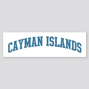 Cayman Islands (blue) Bumper Sticker