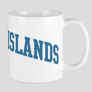 Cayman Islands (blue) Mug