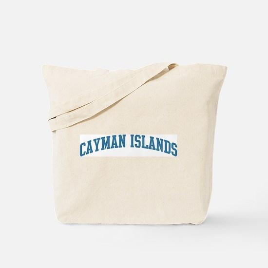 Cayman Islands (blue) Tote Bag