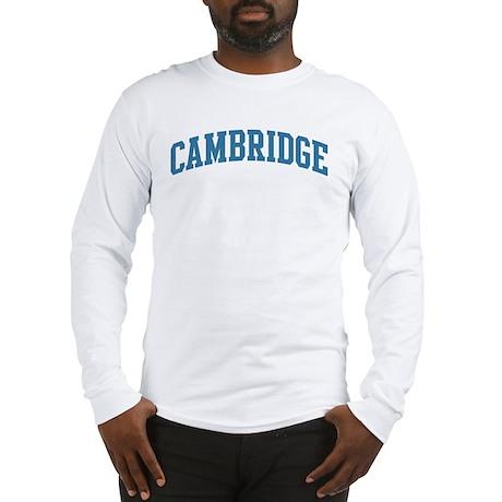Cambridge (blue) Long Sleeve T-Shirt