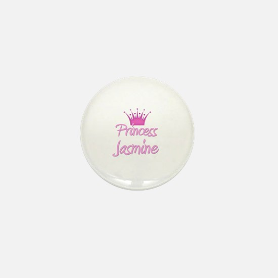 Princess Jasmine Mini Button