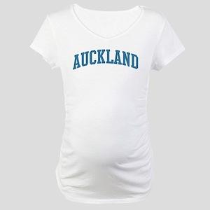 Auckland (blue) Maternity T-Shirt