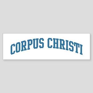 Corpus Christi (blue) Bumper Sticker