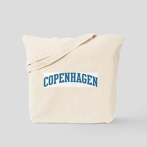 Copenhagen (blue) Tote Bag
