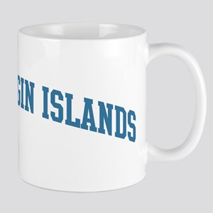 British Virgin Islands (blue) Mug