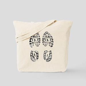 13.1 HALF MARATHON FOOTPRINTS Tote Bag