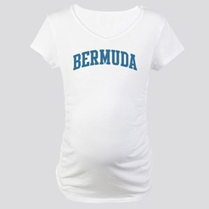 Bermuda (blue) Maternity T-Shirt