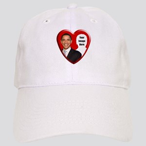 Buy Custom Obama Heart Cap