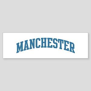 Manchester (blue) Bumper Sticker