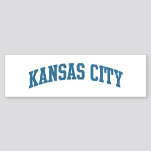 Kansas City (blue) Bumper Sticker