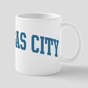 Kansas City (blue) Mug