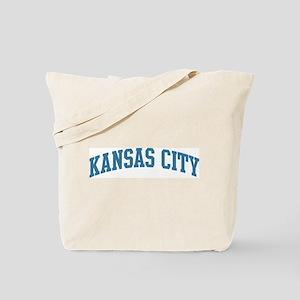 Kansas City (blue) Tote Bag