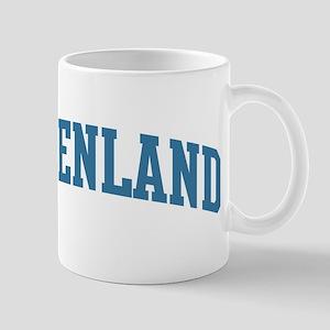 Greenland (blue) Mug