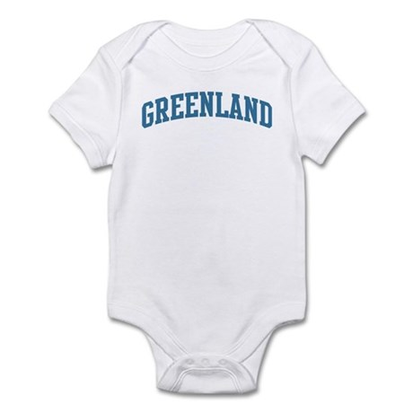 Greenland (blue) Infant Bodysuit