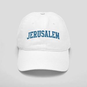 Jerusalem (blue) Cap