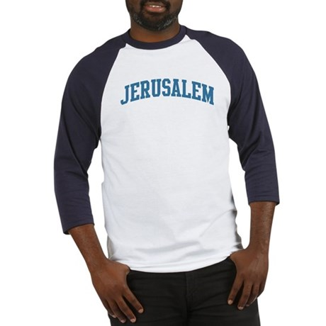 Jerusalem (blue) Baseball Jersey
