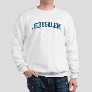 Jerusalem (blue) Sweatshirt