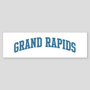 Grand Rapids (blue) Bumper Sticker