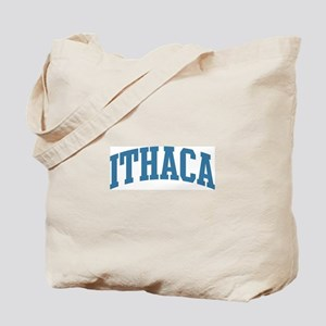 Ithaca (blue) Tote Bag