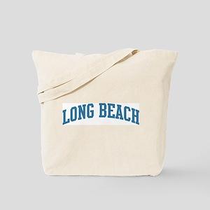 Long Beach (blue) Tote Bag