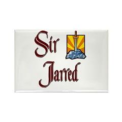 Sir Jarred Rectangle Magnet (10 pack)