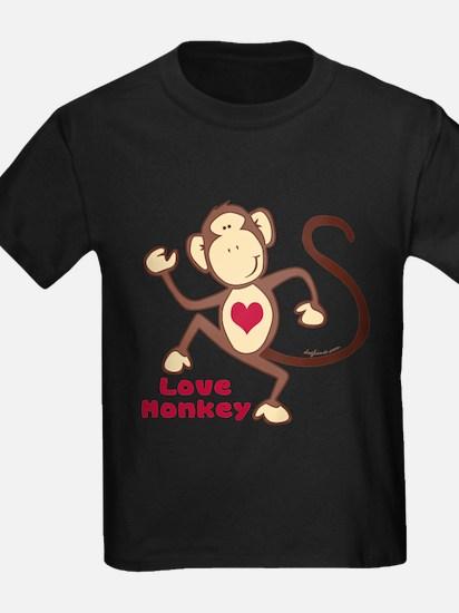 Love Monkey Heart T