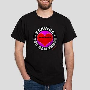 Edward's Heart / Love Dark T-Shirt