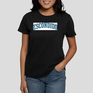 Escondido (blue) Women's Dark T-Shirt