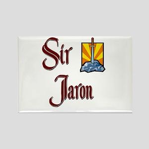 Sir Jaron Rectangle Magnet