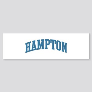 Hampton (blue) Bumper Sticker