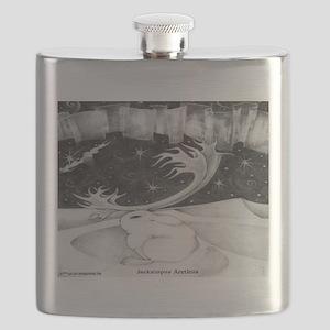JACKALOPE ARCTIC Flask
