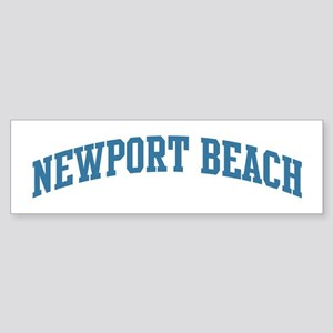 Newport Beach (blue) Bumper Sticker