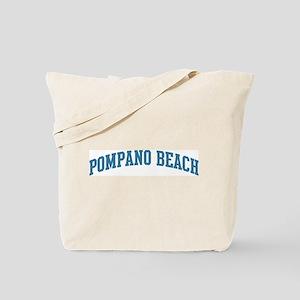Pompano Beach (blue) Tote Bag