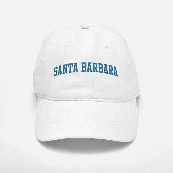 Santa Barbara (blue) Baseball Baseball Cap