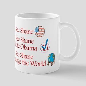See Shane Vote Obama Mug