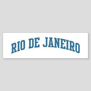 Rio de Janeiro (blue) Bumper Sticker