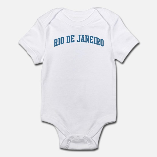Rio de Janeiro (blue) Infant Bodysuit