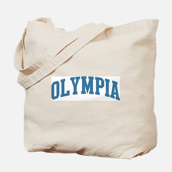 Olympia (blue) Tote Bag