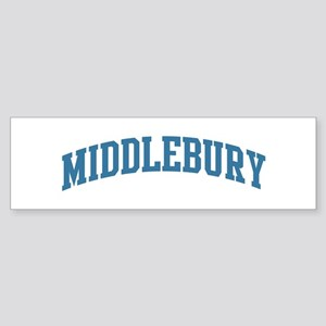 Middlebury (blue) Bumper Sticker