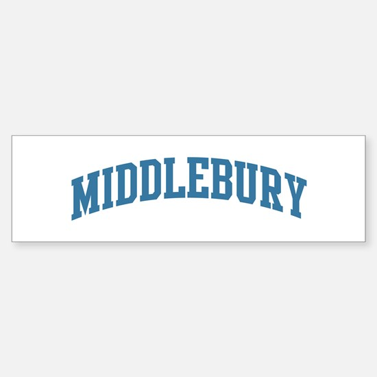 Middlebury (blue) Bumper Bumper Stickers