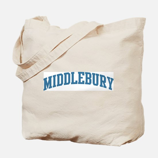 Middlebury (blue) Tote Bag